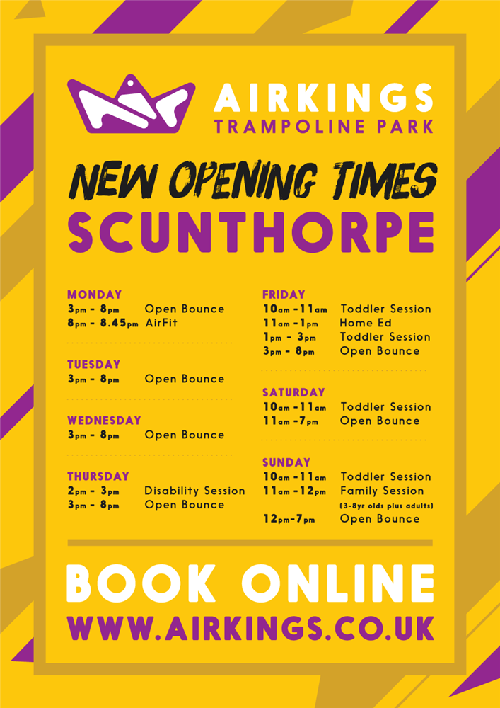 Air Kings Scunthorpes Best Trampoline Park
