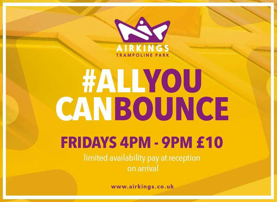 Forget all you can eat, it's time for #ALLYOUCANBOUNCE